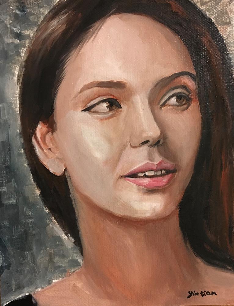 """Untitled"" original fine art by tian yin"