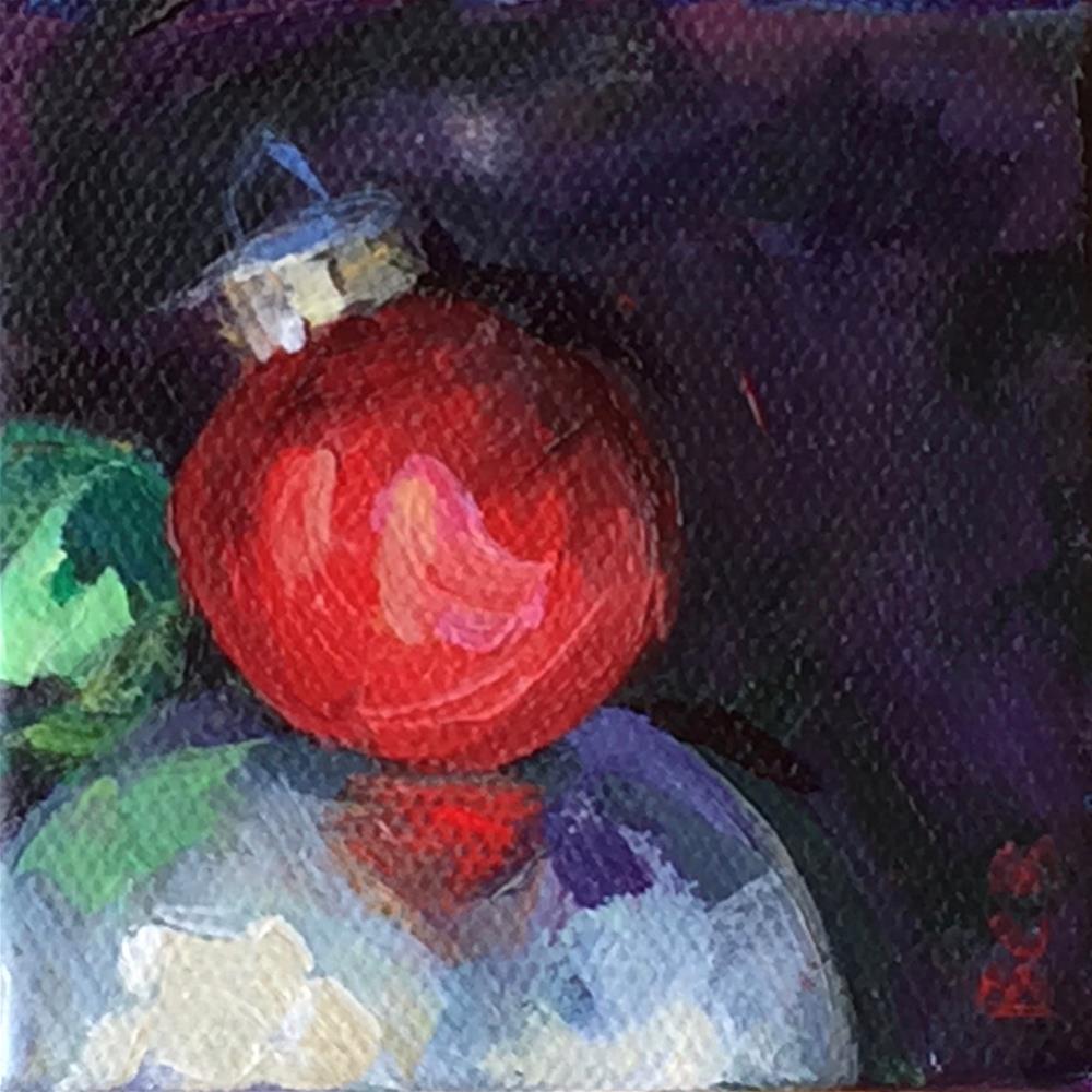 """Ornament 5"" original fine art by Beth Carrington Brown"