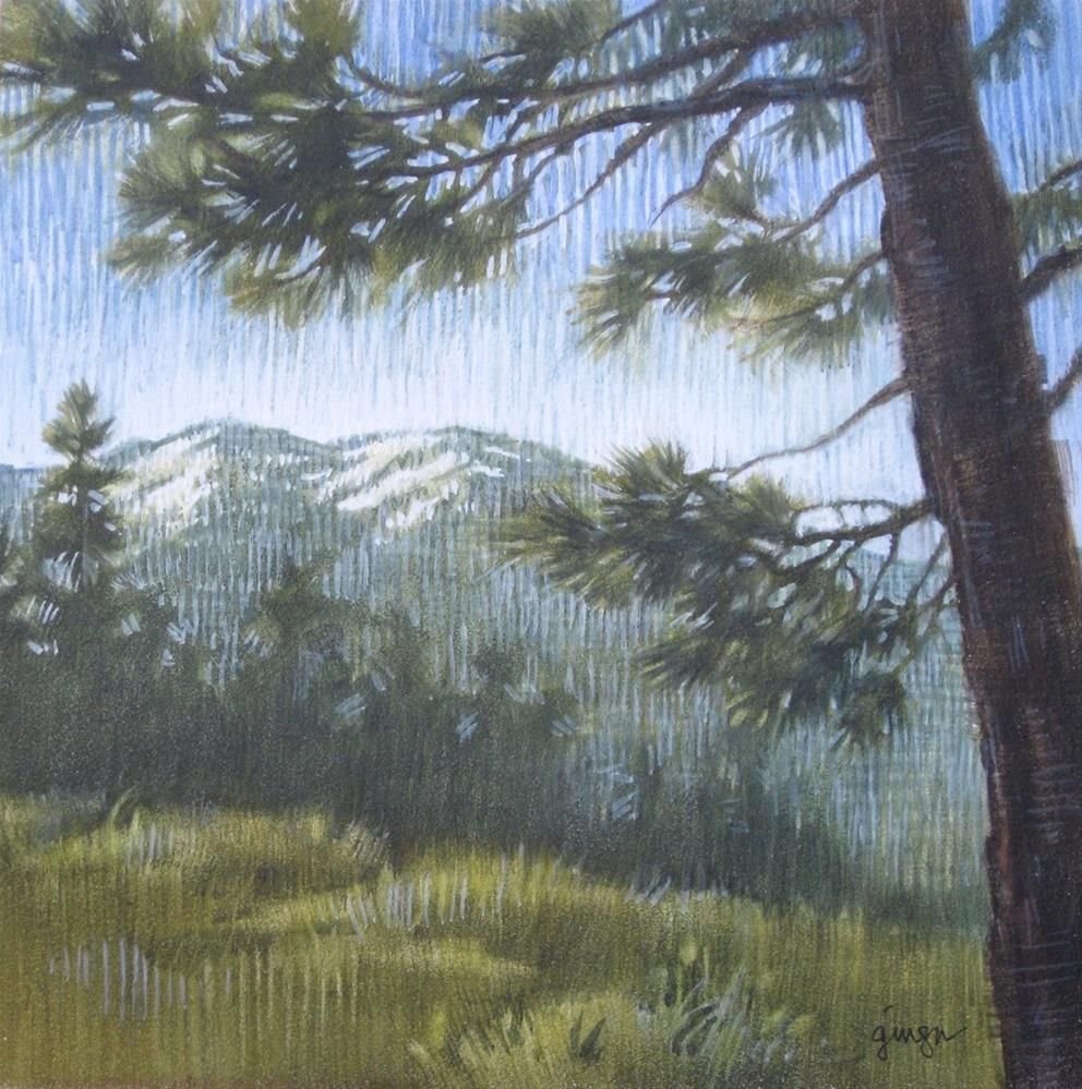 """San Bernardino Peak View"" original fine art by Ginger Pena"