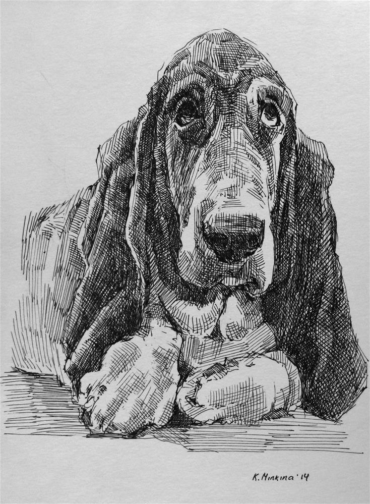 """adopt14"" original fine art by Katya Minkina"