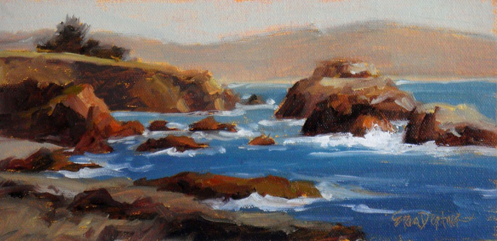 """Impressions from Pacific Star"" original fine art by Erin Dertner"