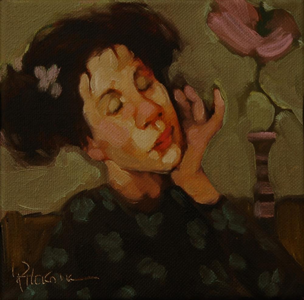 """Perfectly Pink"" original fine art by Kayleen Horsma"