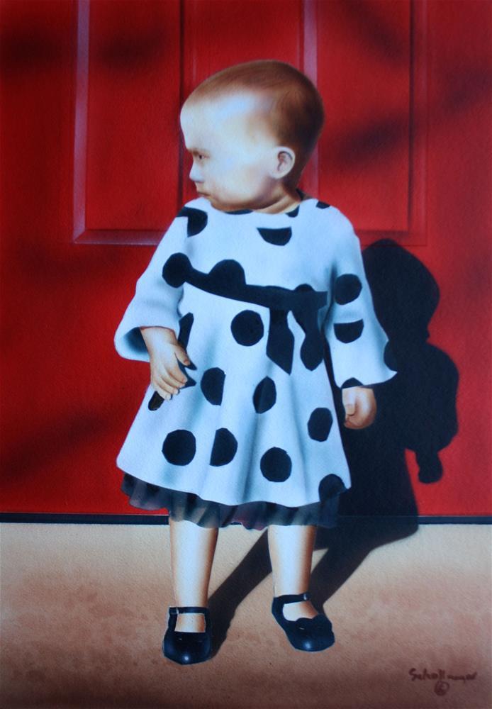 """Enjoying the Sunshine"" original fine art by Fred Schollmeyer"