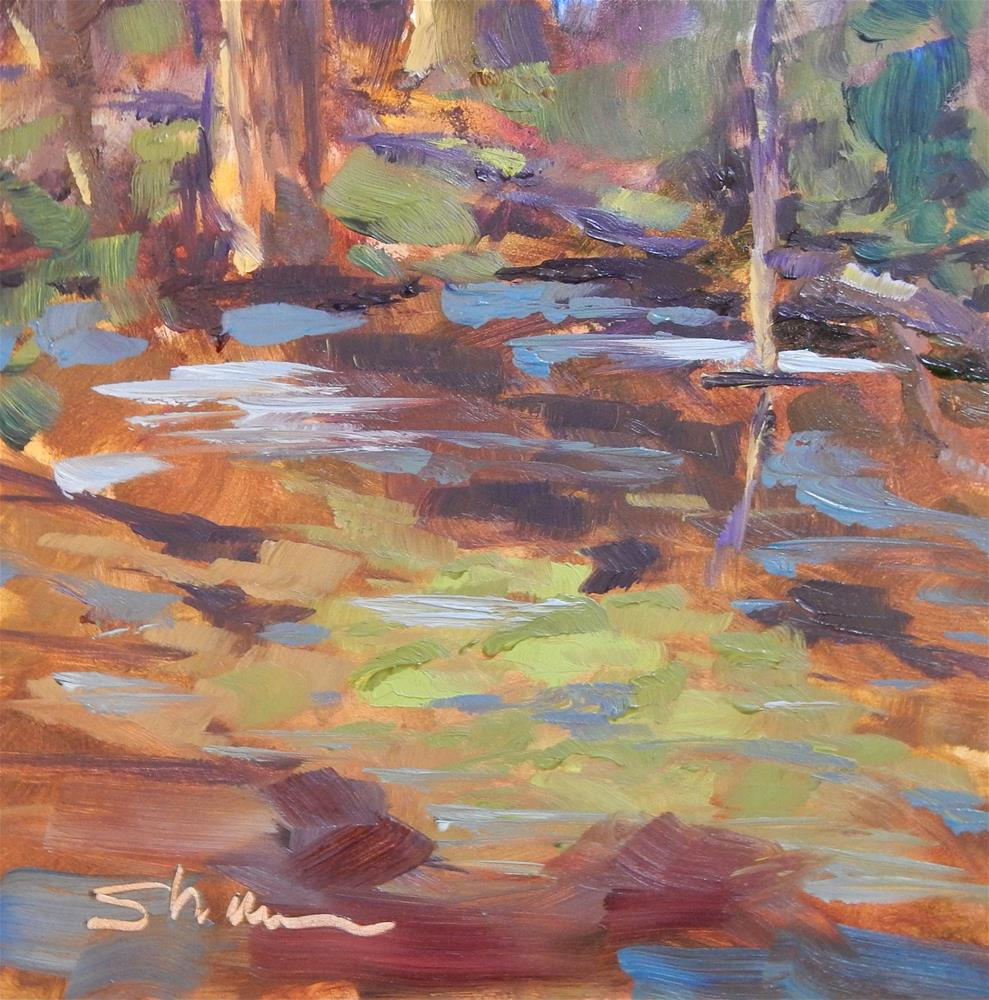 """Indian Lake Wetlands"" original fine art by Shawn Deitch"