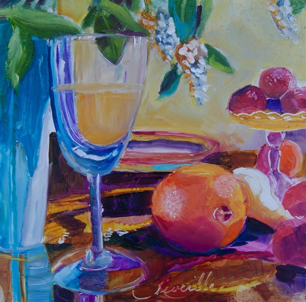 """Sunny Brunch"" original fine art by Reveille Kennedy"