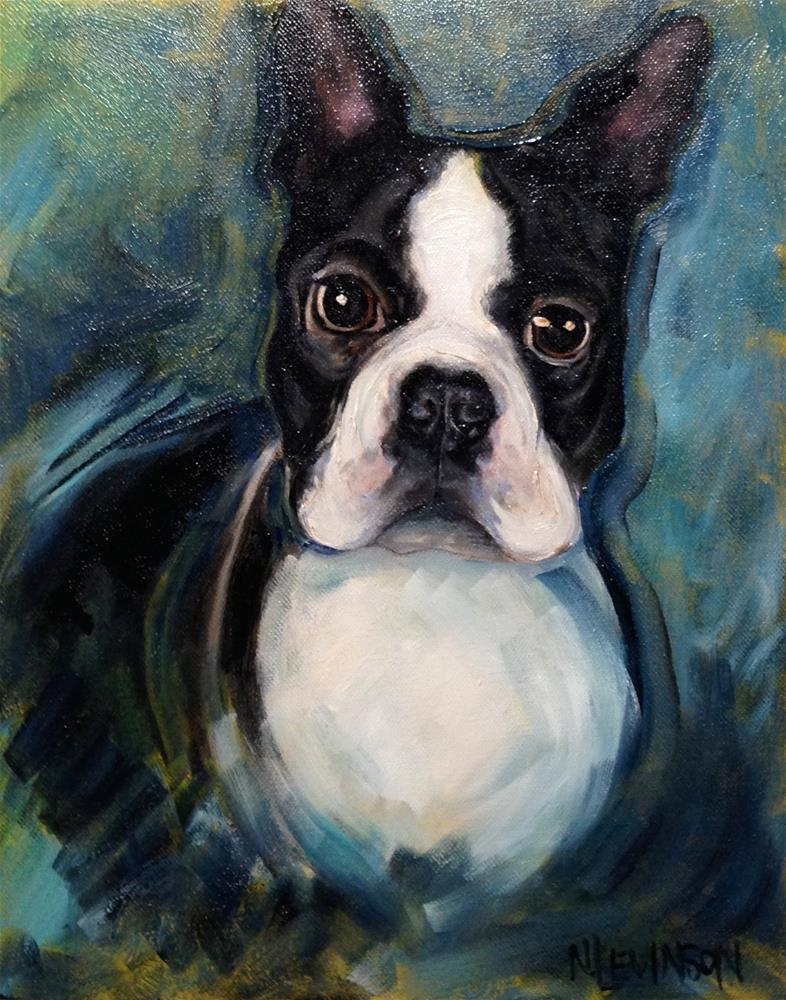 """Tiny"" original fine art by Nancy Levinson"
