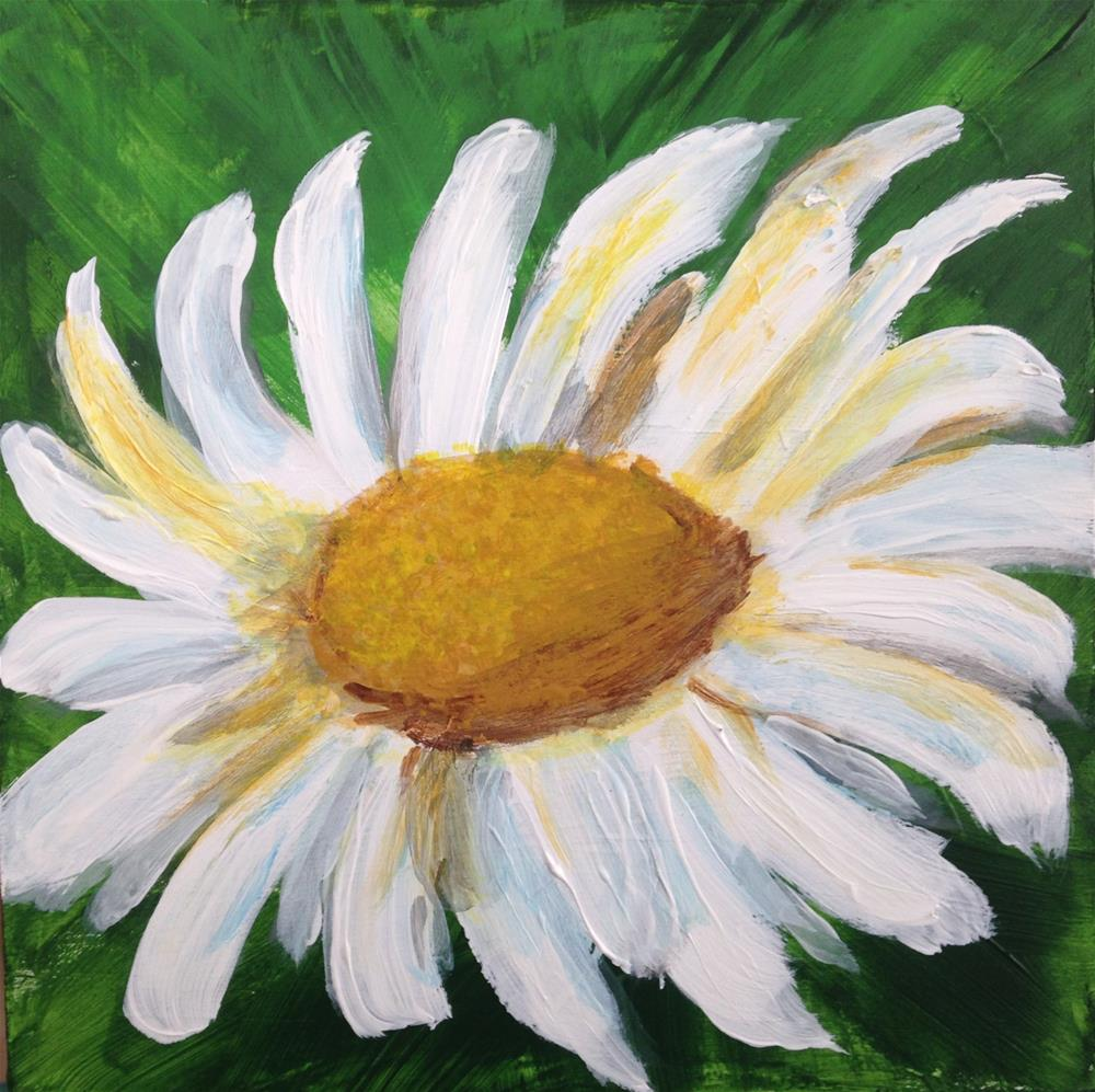 """Daisy"" original fine art by Brenda Smith"