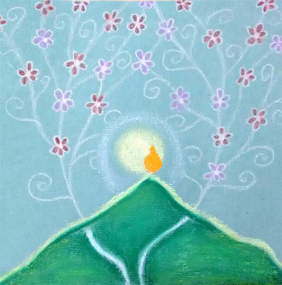 """""""Graceful Day"""" original fine art by Adéla Svobodová"""