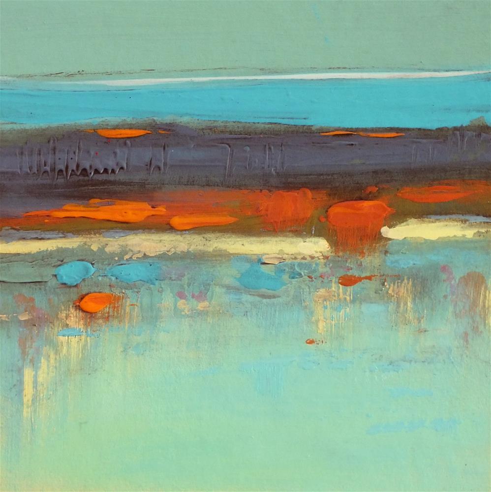 """Landscape 299"" original fine art by Ewa Kunicka"