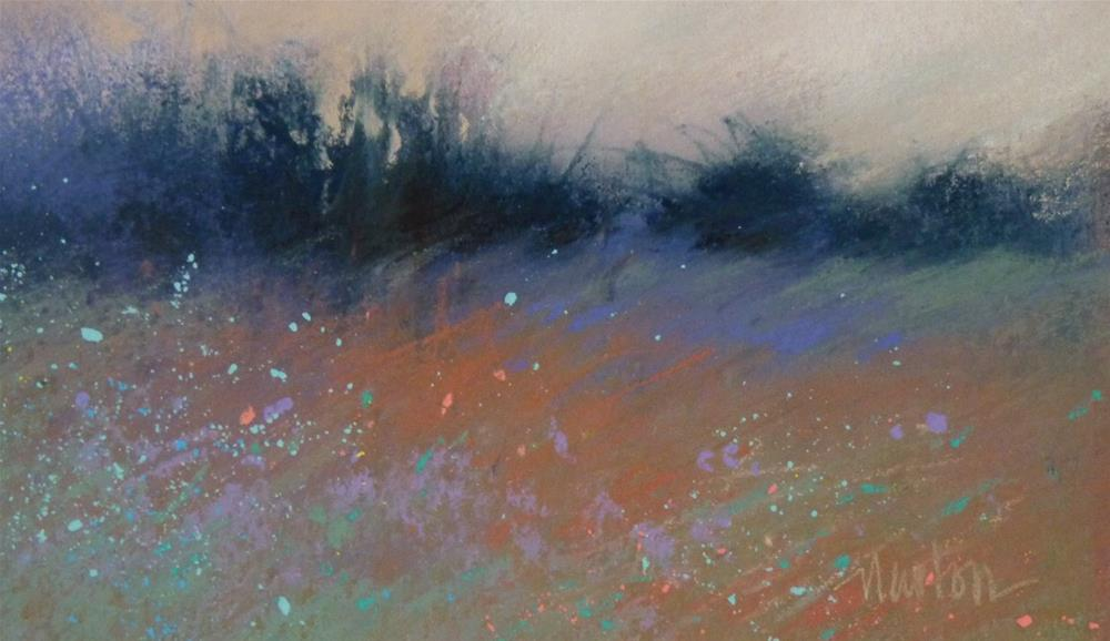 """Meadow Wind"" original fine art by Barbara Benedetti Newton"