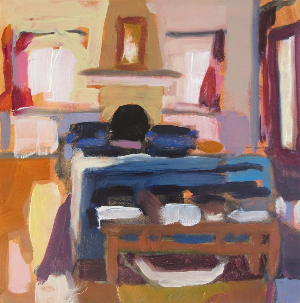 """Quotidian #6.5"" original fine art by Pamela Hoffmeister"