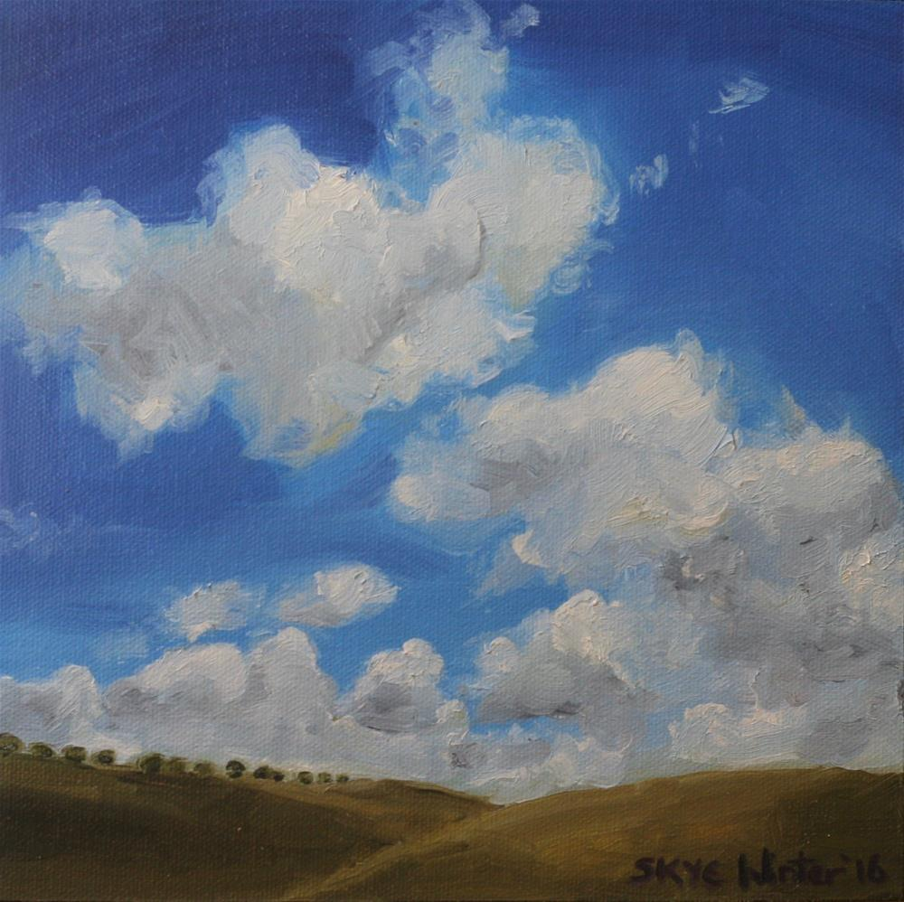 """Dotted Hills"" original fine art by Skye Coddington"