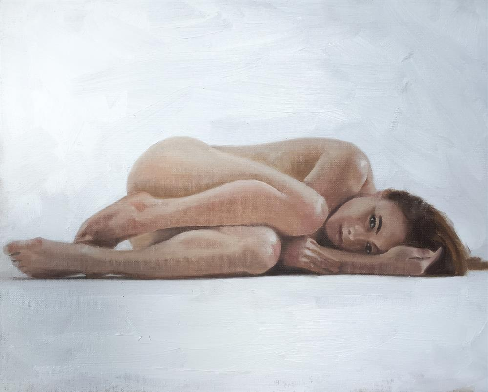 """Nude"" original fine art by James Coates"