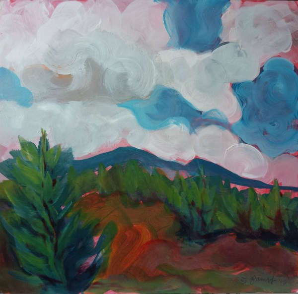 """Samaritan Drive 4"" original fine art by Pam Van Londen"