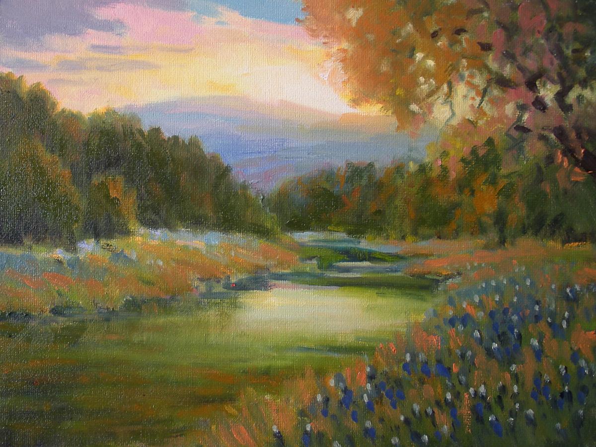 """""""Golden Hour"""" original fine art by David Forks"""