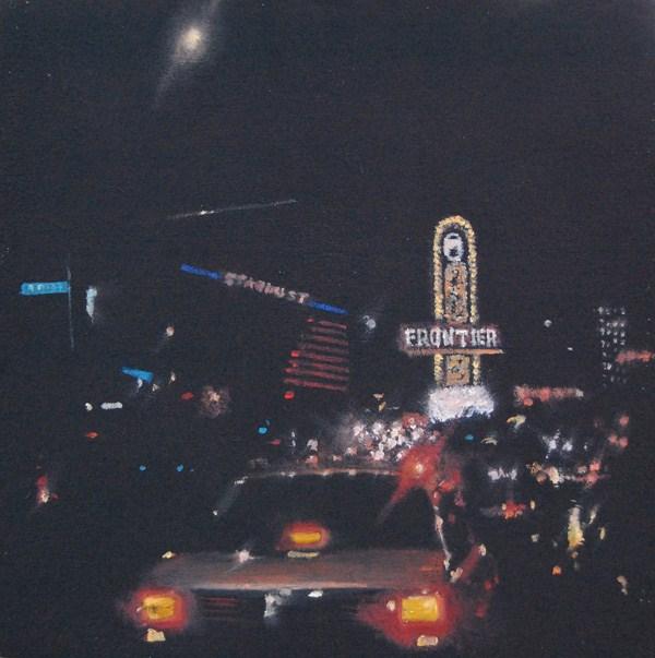"""Vegas 1987"" original fine art by Gerald Schwartz"