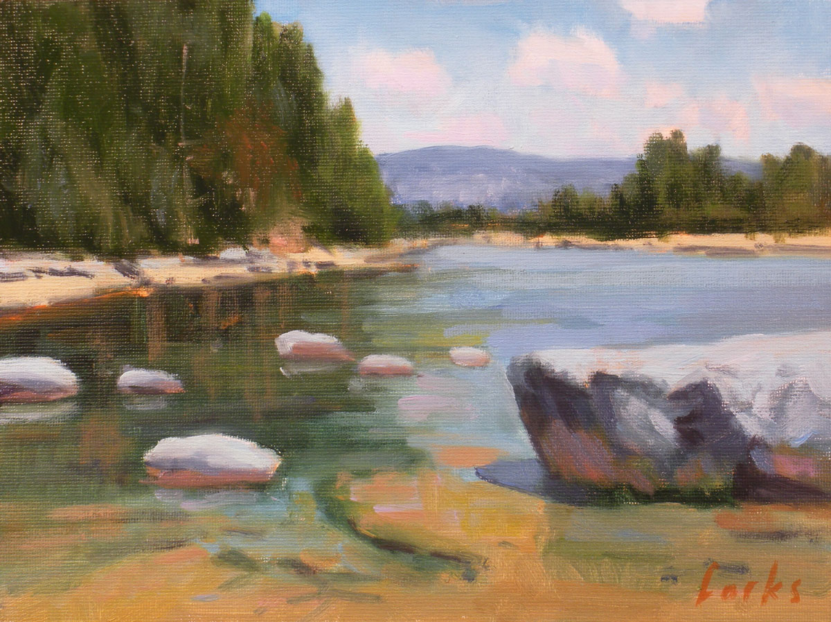 """Shallows on the Nueces"" original fine art by David Forks"