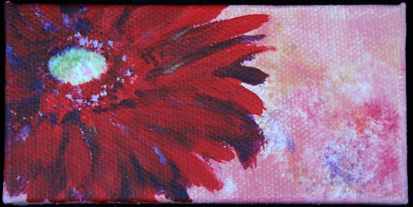 """Gerbera Daisy"" original fine art by Jana Johnson"