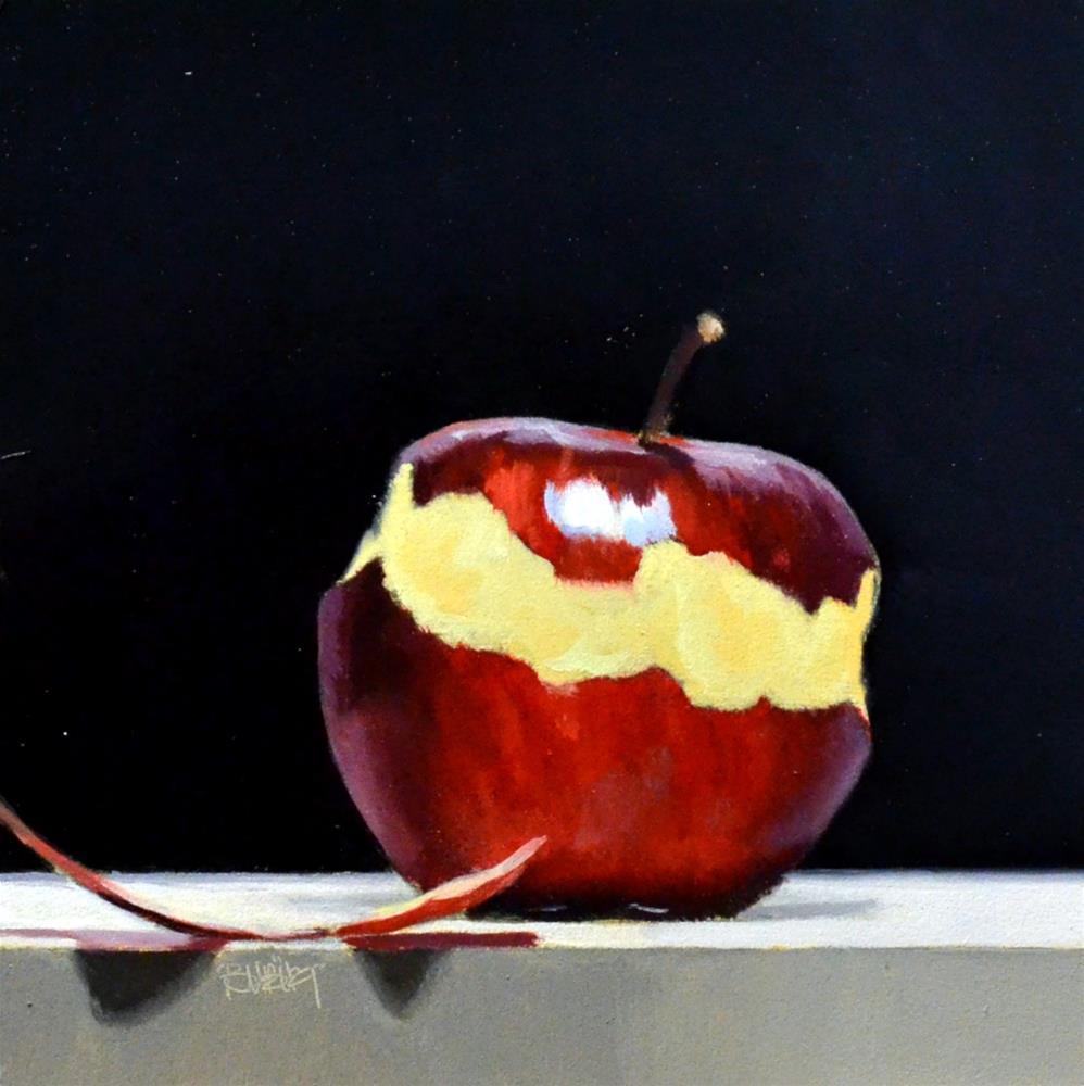 """#371 Braeburn Peel #6"" original fine art by Brian Burt"