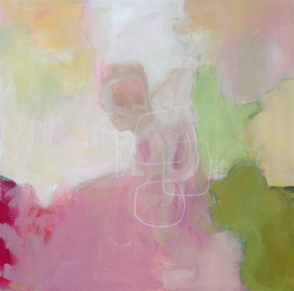 """""""Chance Encounter"""" original fine art by Pamela Munger"""