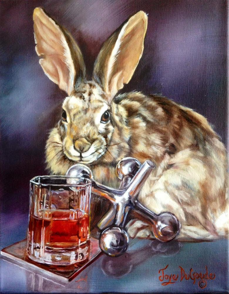 """Jack Rabbit by Joye DeGoede"" original fine art by Joye DeGoede"