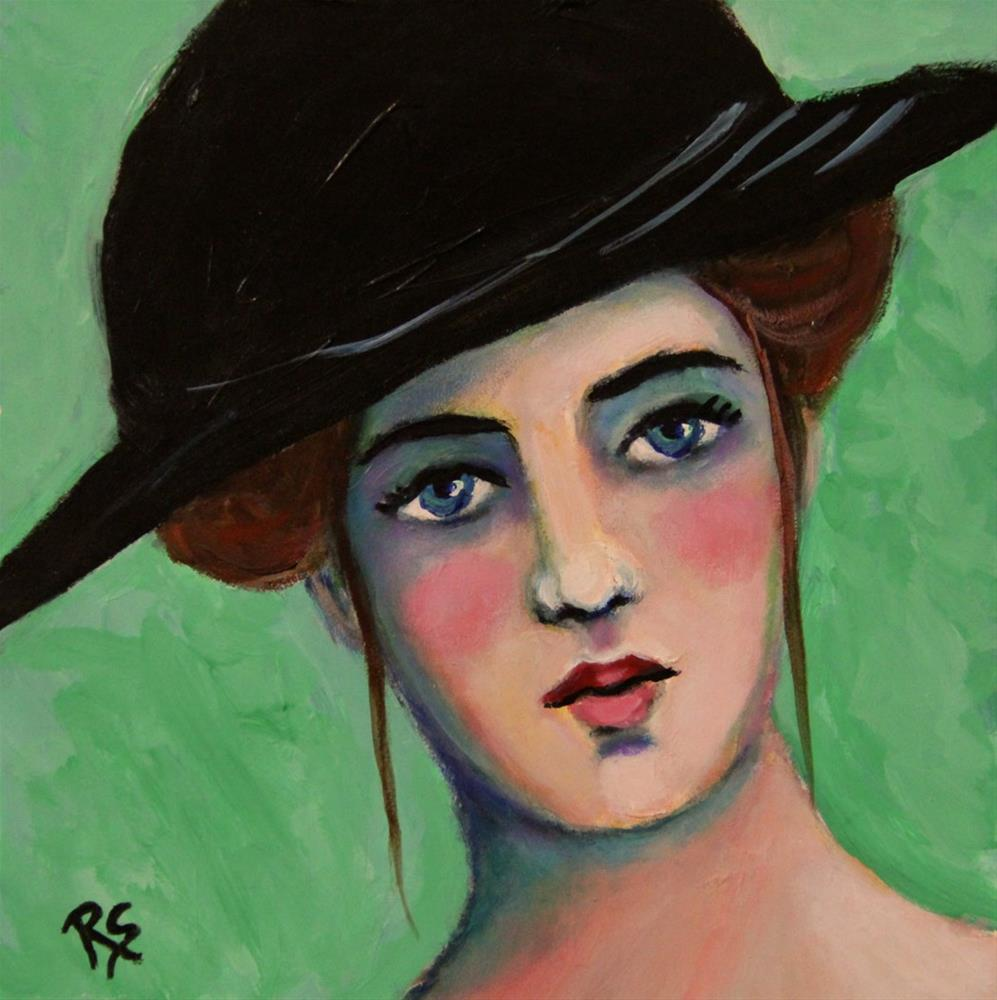 """Lillian"" original fine art by Roberta Schmidt"