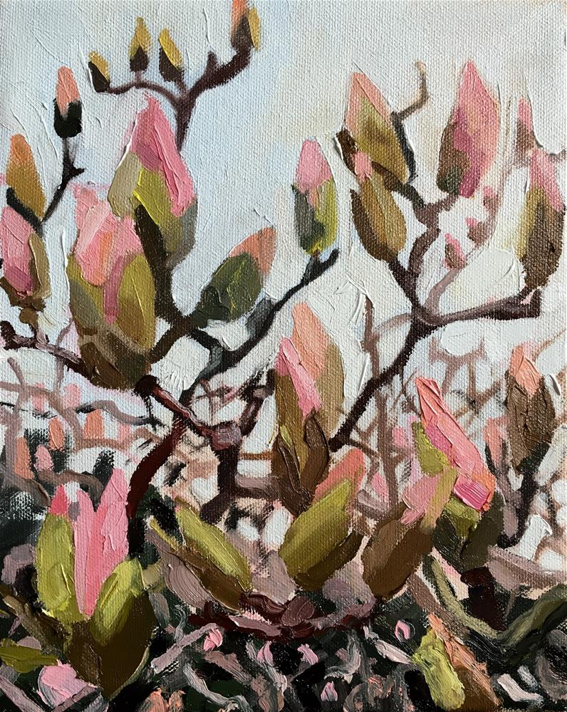 """Spring"" original fine art by Milda Vaitiekunaite"