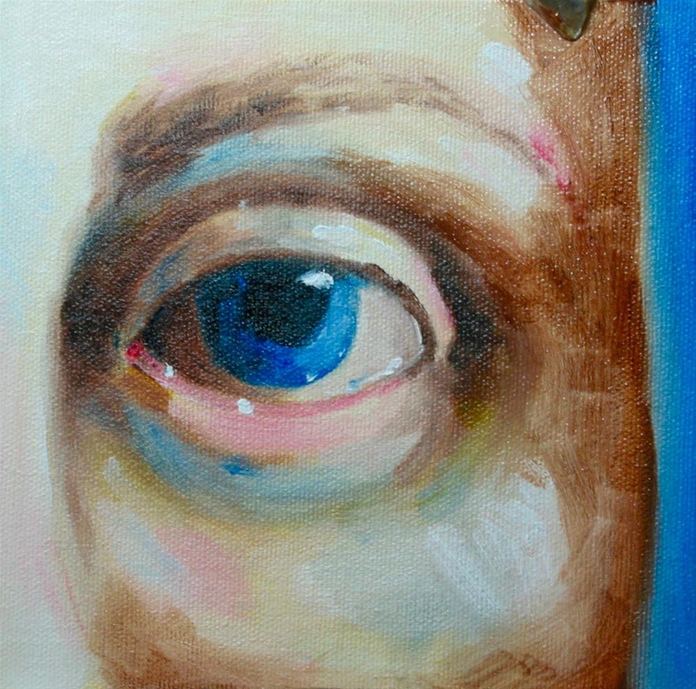 """The Other Eye"" original fine art by Patricia Murray"