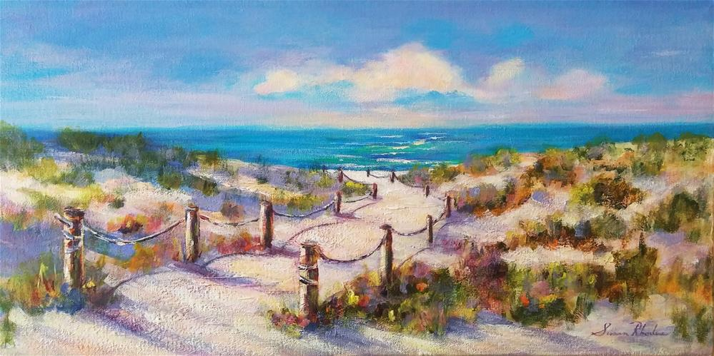 """Dune Colors"" original fine art by Susan Rhodes"