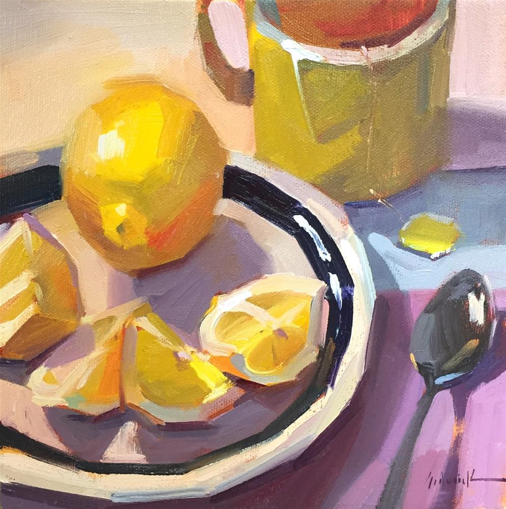 """Wedges"" original fine art by Sarah Sedwick"