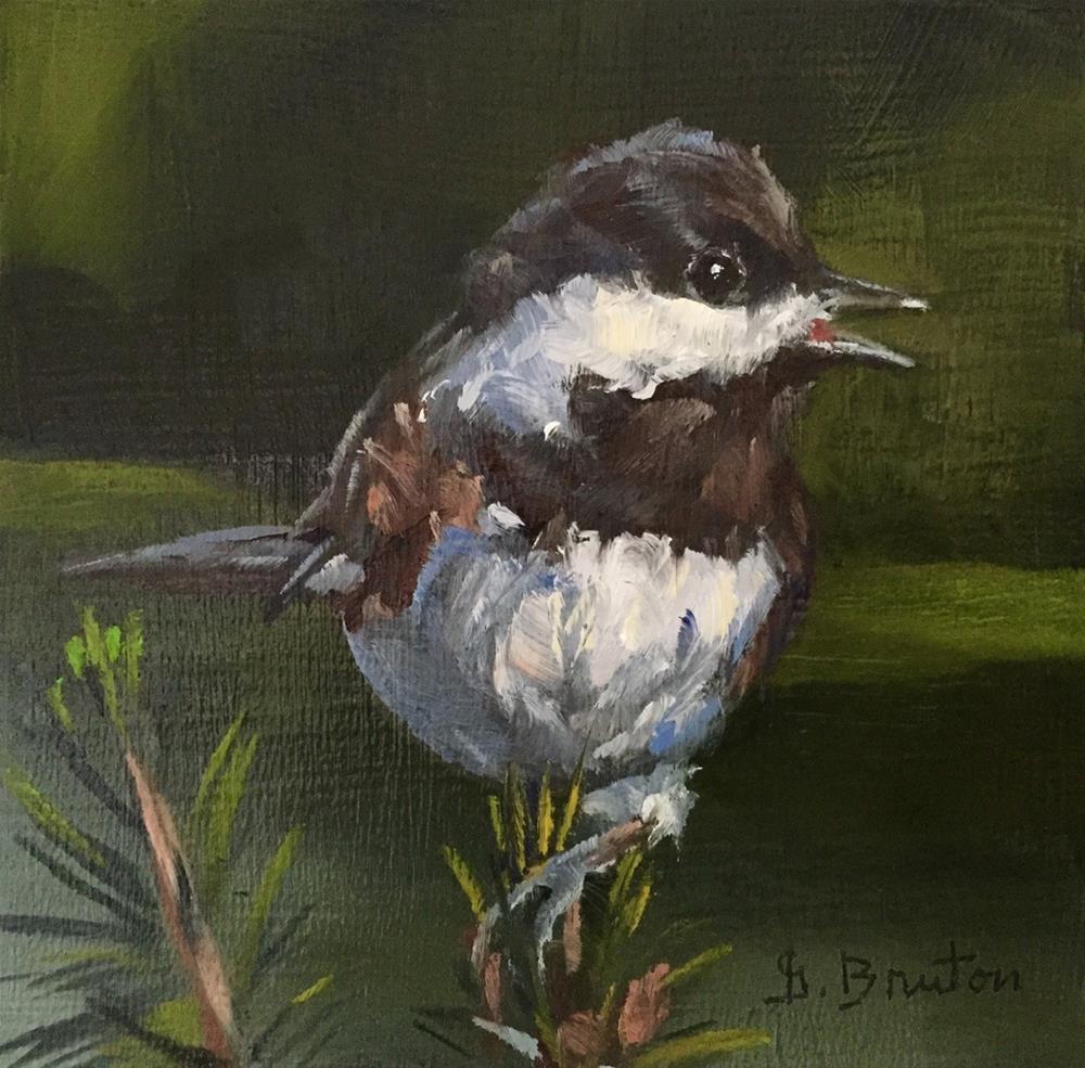 """Singing"" original fine art by Gary Bruton"