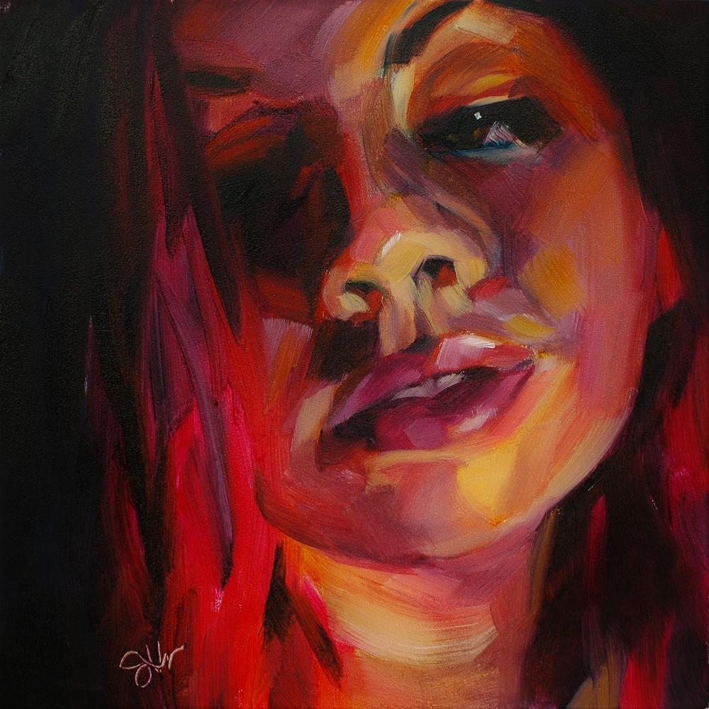 """Ignited"" original fine art by Janette Harter"