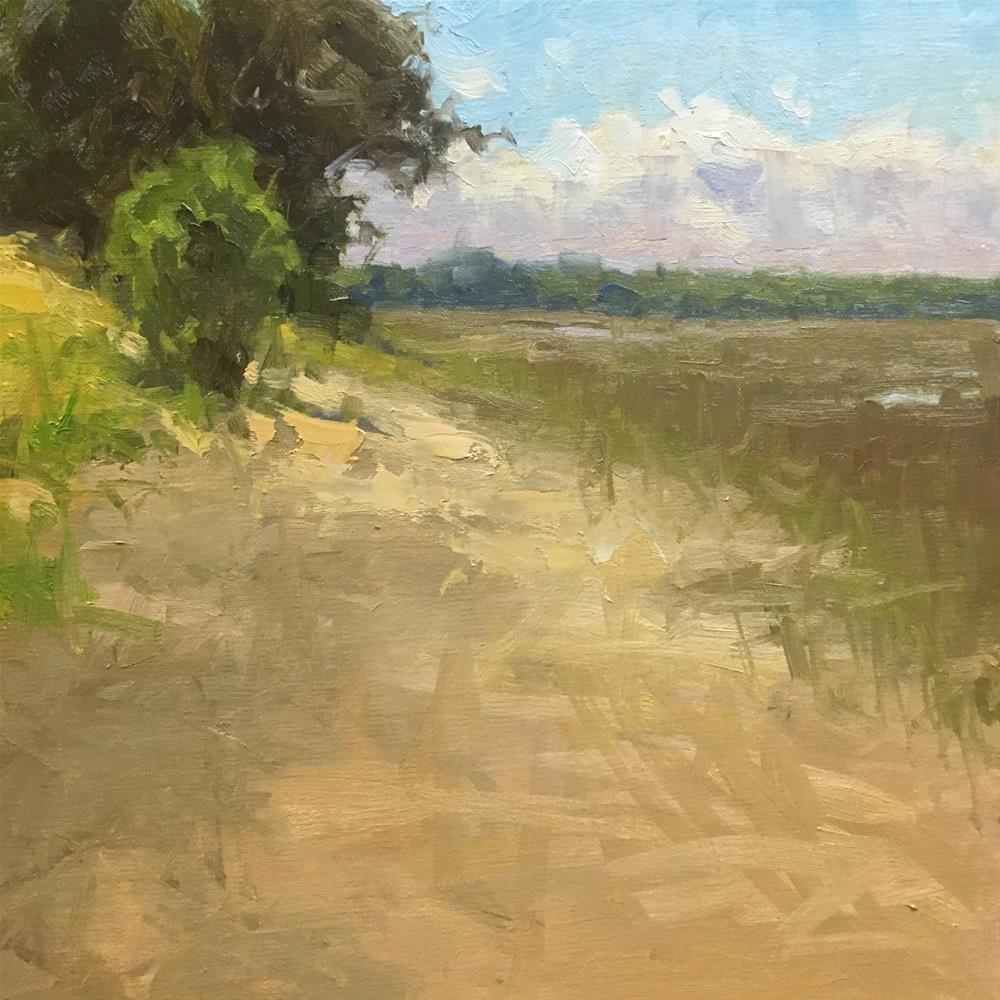 """""""Marshside"""" original fine art by David Boyd Jr"""