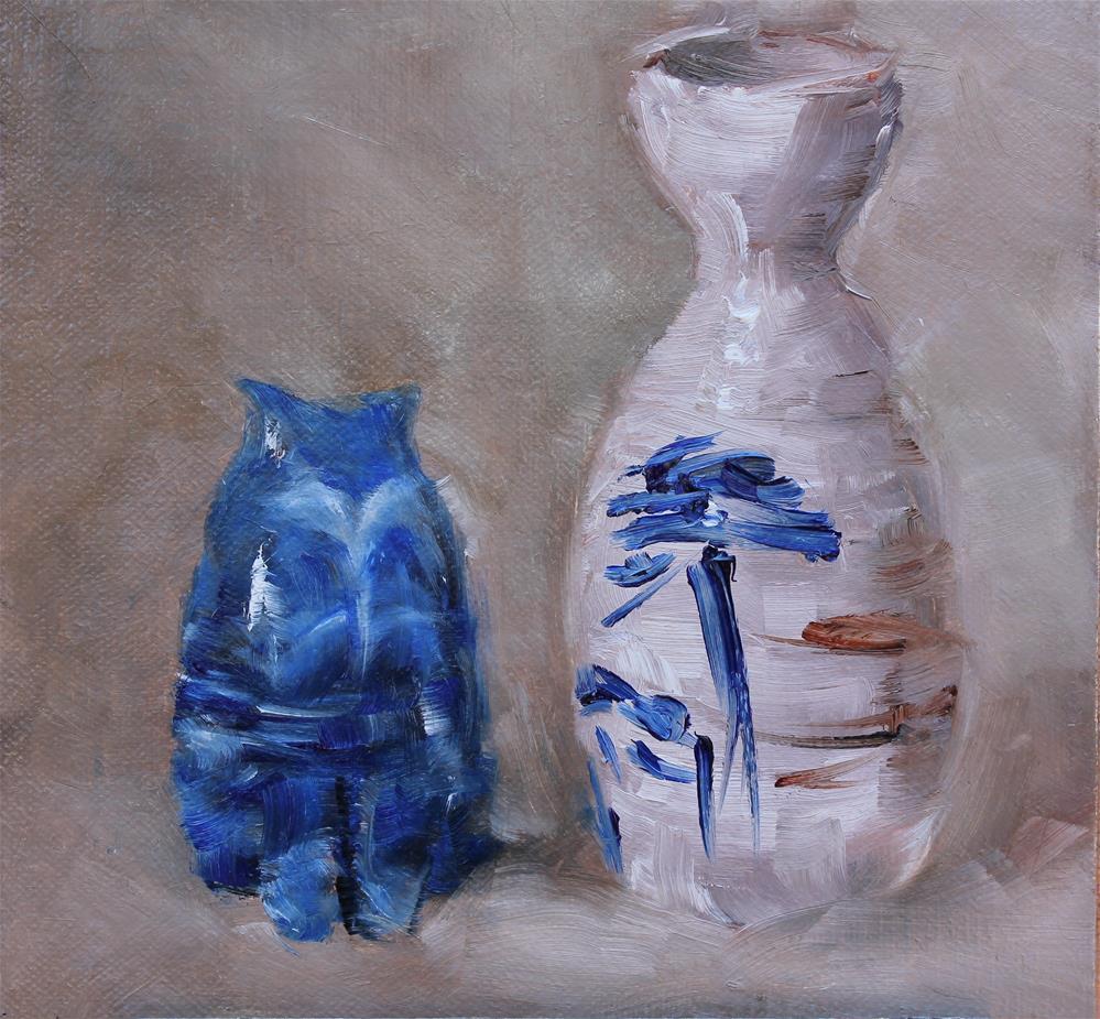 """""""Cool Cat"""" original fine art by Karen Solorzano"""