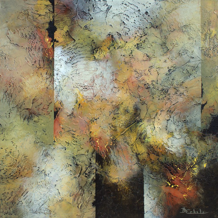 """Autumn's Mix"" original fine art by Nancy Eckels"