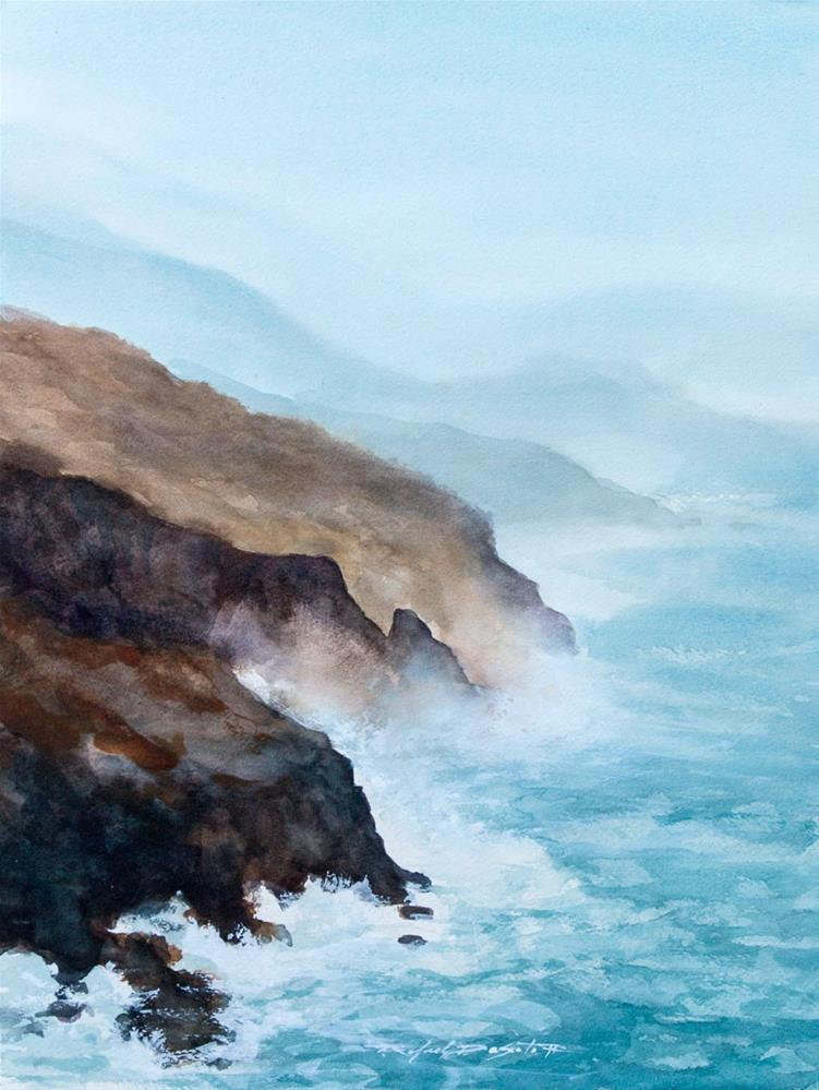 """Coastal Mist"" original fine art by Rafael DeSoto Jr."