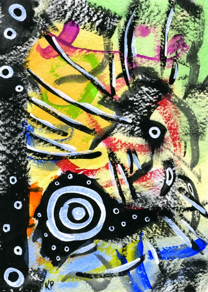 """A Bit of a Scare"" original fine art by Kali Parsons"