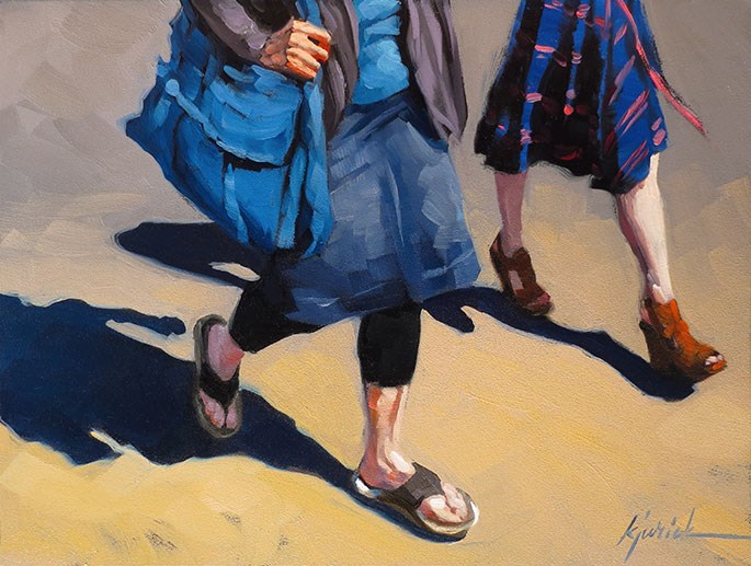 """Legs"" original fine art by Karin Jurick"