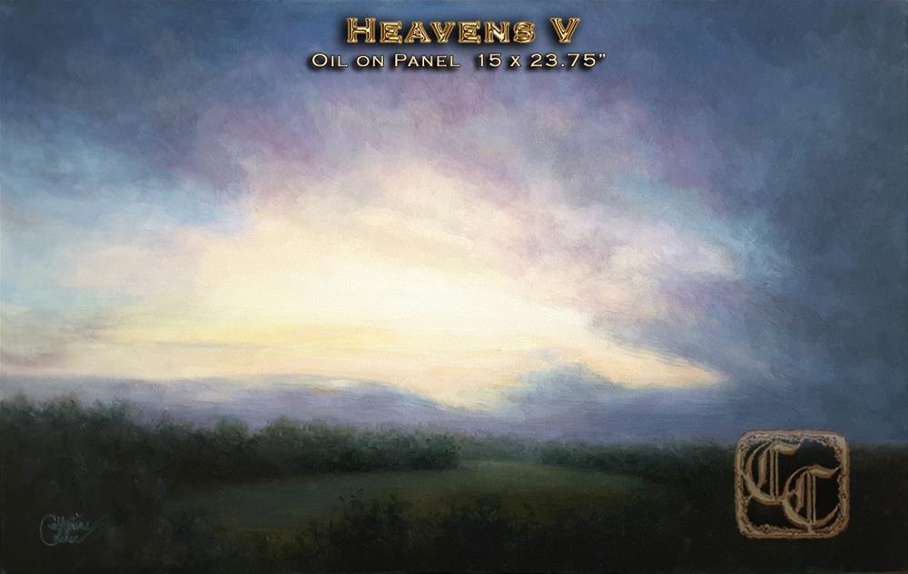 """HEAVENS V"" original fine art by Catherine Colsher"