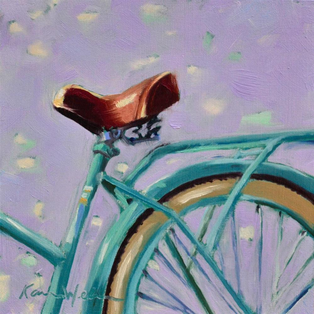 """Beach Ride"" original fine art by Karen Weber"