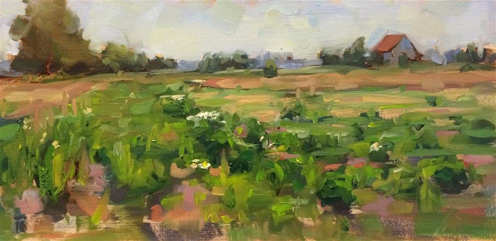 """Outdoor Study May 26"" original fine art by Thomas Ruckstuhl"