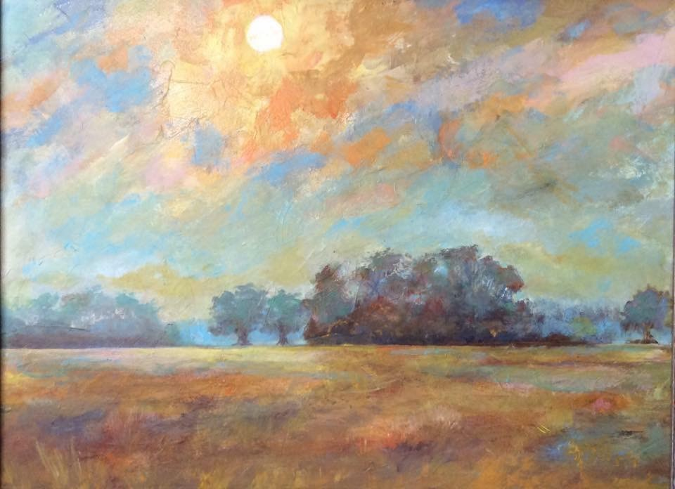 """A Warm Winter"" original fine art by Kipling Collins"
