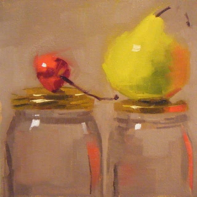 """""""TUTTI FRUTTI"""" original fine art by Helen Cooper"""