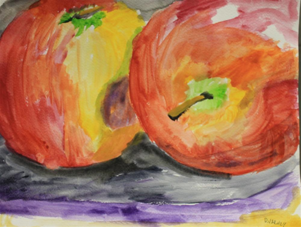 """Apples"" original fine art by Daniel Varney"