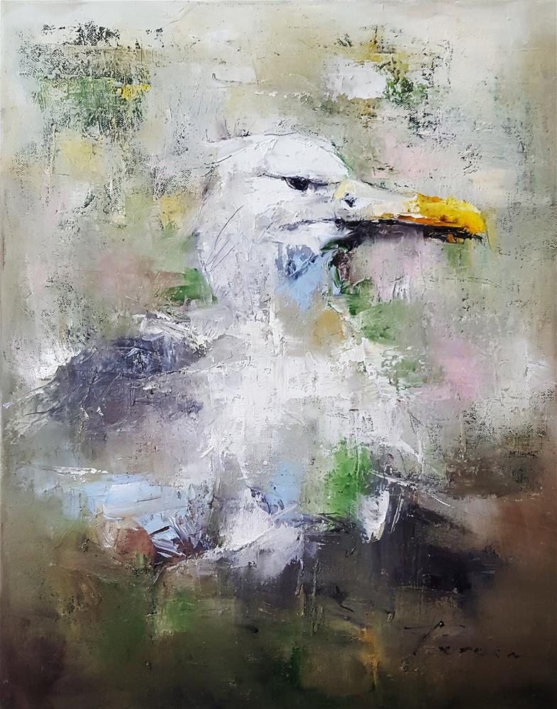 """Albatross.."" original fine art by Teresa Yoo"
