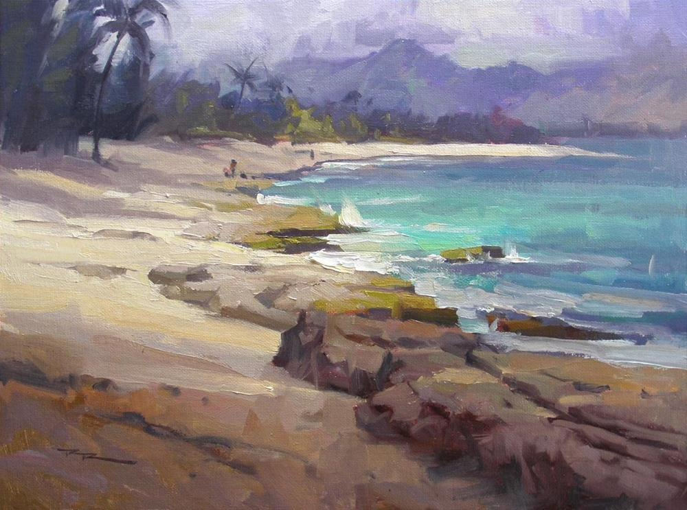 """Lost in Paradise"" original fine art by Richard Robinson"