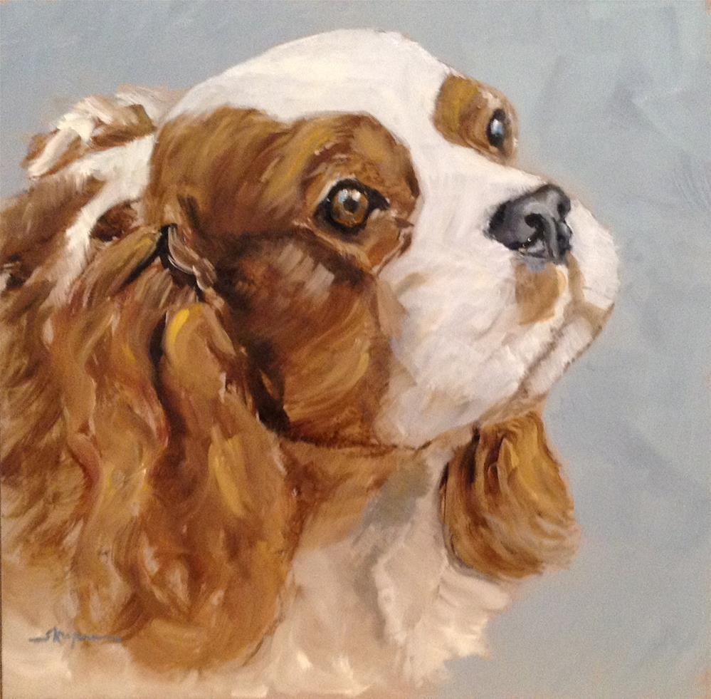 """""""Maycie"""" original fine art by Shelley Koopmann"""