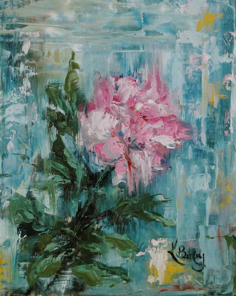"""First Rose"" original fine art by Kelly Berkey"