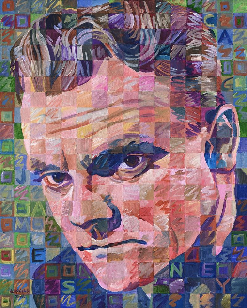 """James Cagney"" original fine art by Randal Huiskens"