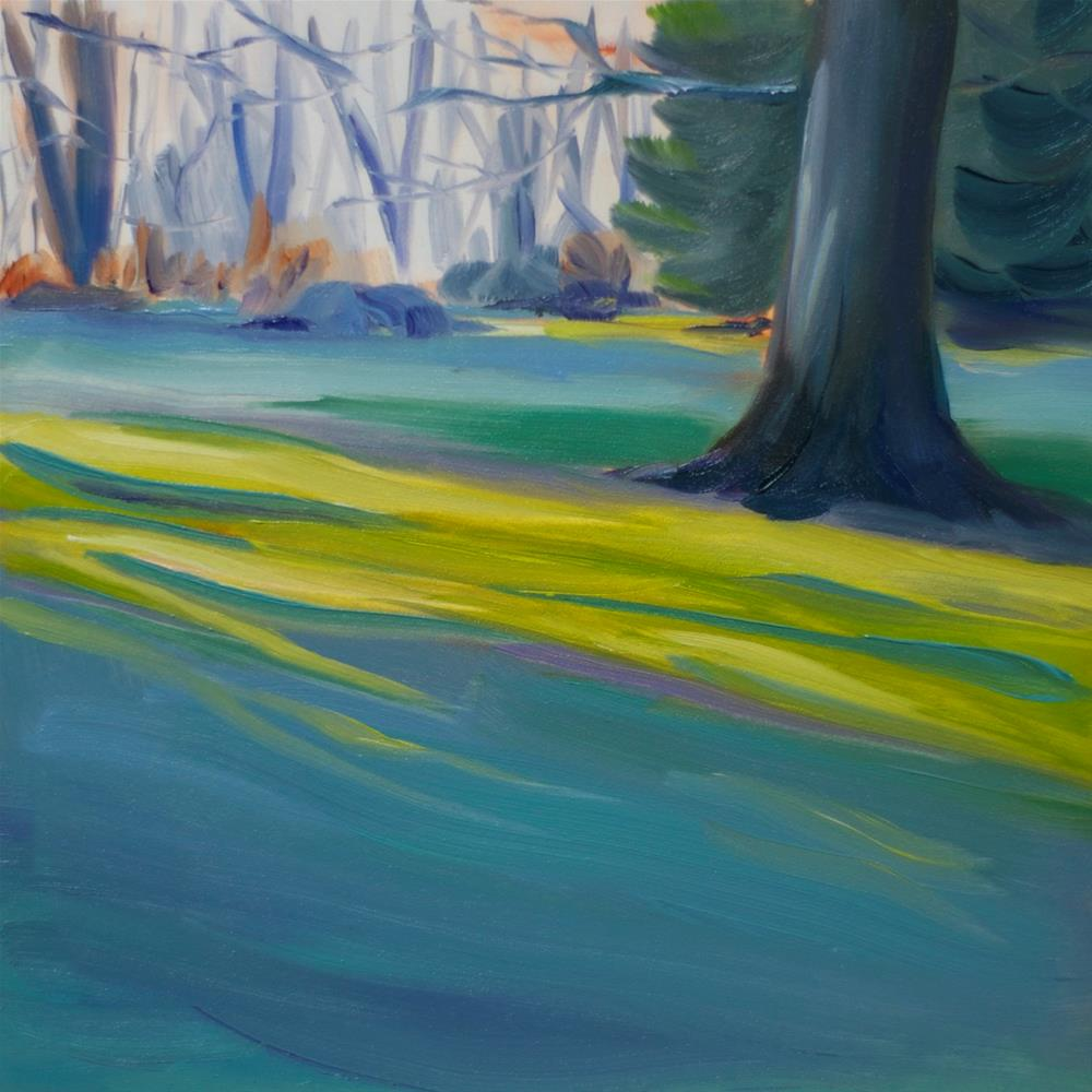 """Morning Frost"" original fine art by Heather Bullach"